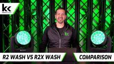 Chauvet Rogue R2 Wash vs R2X Wash