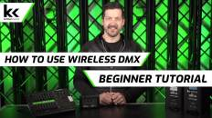 How To Use A Wireless DMX Transmitter