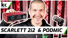Scarlett 2i2 Audio Interface & Rode PodMic | Setup & Review