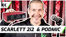 Scarlett 2i2 Audio Interface & Rode PodMic | Setup & Review