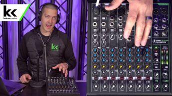 Setup Mackie ProFX10v3 Audio Mixer For Zoom