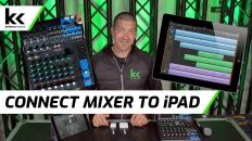 4 Ways To Connect An Audio Mixer to iPad
