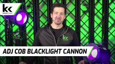 American DJ Blacklight Cannon   Review and Demo