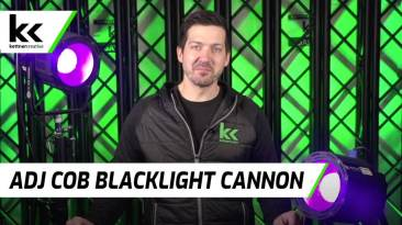 American DJ Blacklight Cannon | Review and Demo