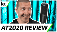 Audio Technica AT2020 Review