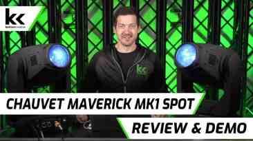 Chauvet Maverick MK1 Spot | Review & Demo