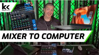 Connect Audio Mixer To Computer