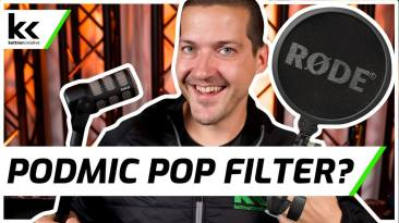 Does The Rode PodMic Need A Pop Filter?
