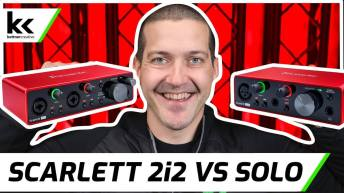 Focusrite Scarlett 2i2 VS Solo | What's the Difference?