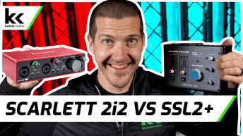 Scarlett 2i2 vs SSL2+