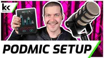 GoXLR Mini Rode PodMic Setup | Best Microphone Settings