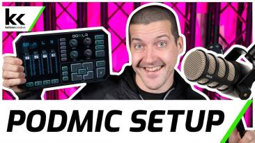 GoXLR And Rode PodMic Setup | Best Microphone Settings For Streaming