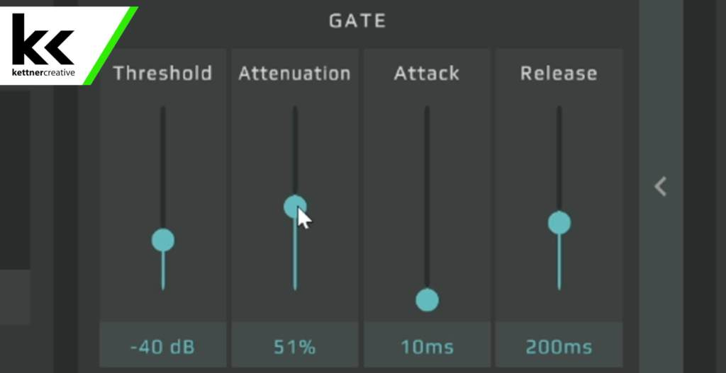 GoXLR SM7B Gate Setting