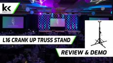 L16 Crankup Truss Stand | Review & Demo