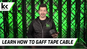 Learn How To Gaff Tape Cable Safely At Events