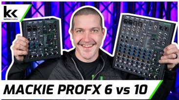 Mackie ProFX6v3 VS ProFX10v3 Audio Mixer