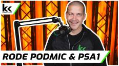 Rode Podmic & Rode PSA1 Boom Arm | In-Depth Review