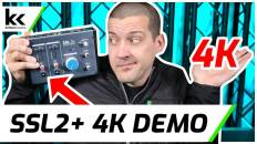Solid State Logic SSL2 4k Mode Demo