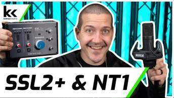 Solid State Logic SSL2+ and Rode NT1 | Setup & Test