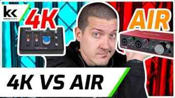 SSL2 4K Mode vs Scarlett 2i2 AIR Mode