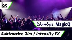 Subtractive Dim / Intensity Chase FX | Chamsys MagicQ Tutorial