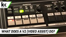 What does a V2 (Video Engineer Assistant) do?