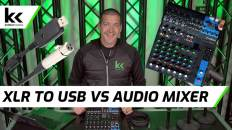 XLR to USB Cable vs Audio Mixer With USB