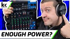 Yamaha MG10XU with 250 Ohm Headphones | Review & Demo