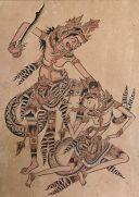 32. Rawana Forces Wibisana to Leave, Ida Bagus Anom (1898-1972), 1949, Museum Puri Lukisan, Ubud