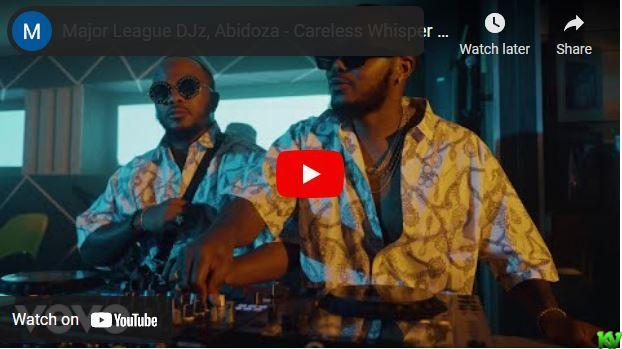 Major League DJ & Abidoza – Careless Whisper ft. Jay Sax