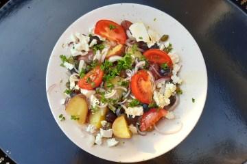 Zonnige Aardappel Salade