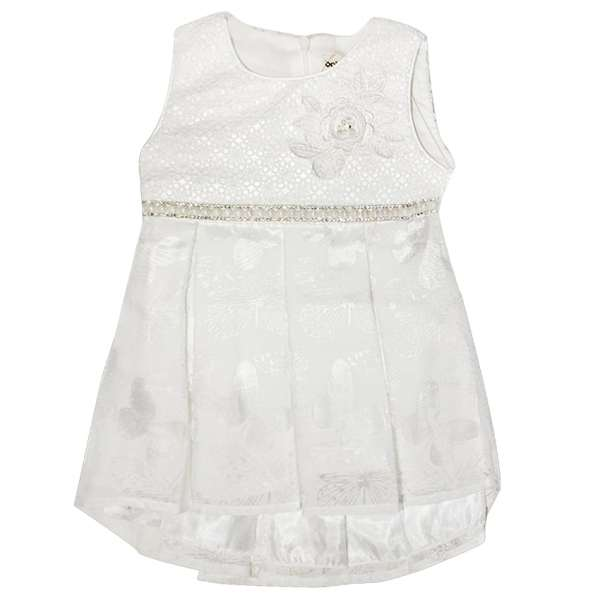 Robes Pour Bebe Fille Blanche Kevajo