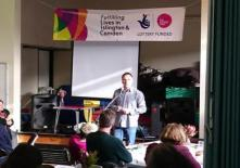 Speaking at the Fulfilling Lives in Islington and Camden project
