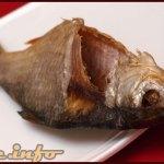 Orosz, sózott, szárított hal