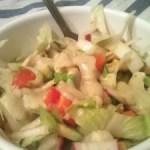 Cikória saláta