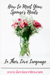 Meeting Your Spouse's Needs In Their Love Language