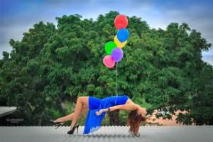 Photographe à la Réunion: Ballons à helium