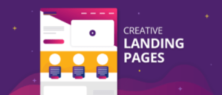 Creative landing pages picture
