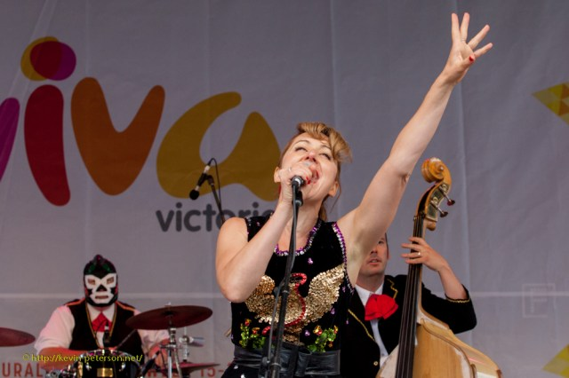 Abbie Cordwell and the Chicano Rockers - Mexican 'roconrol'