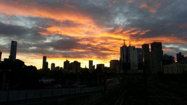 Yhe Winter Solstice ends in Melbourne