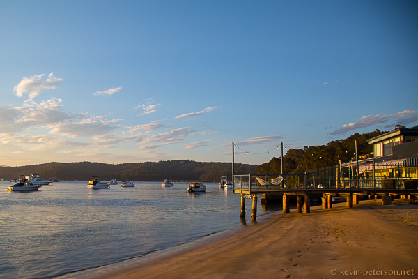 On The Pier at Sunset, Batemans Bay
