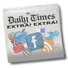 all social media site news