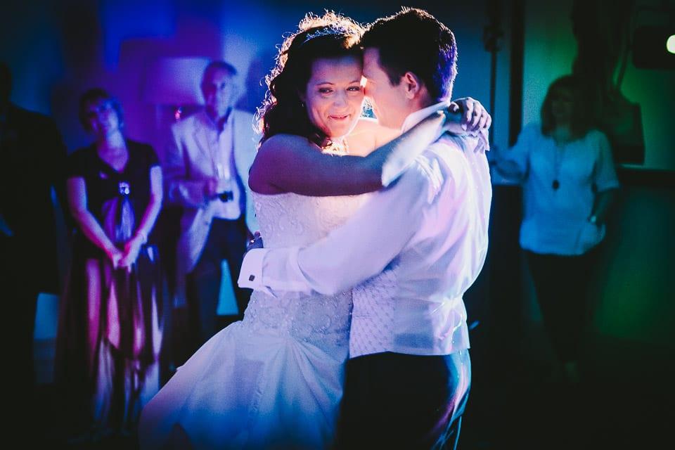 Wedding fiorst dance at Bowood