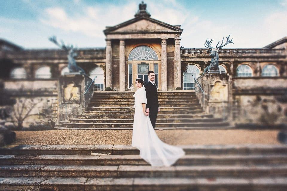 Winter wedding at Bowood