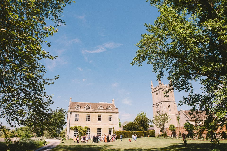 Dauntsey Park house wedding