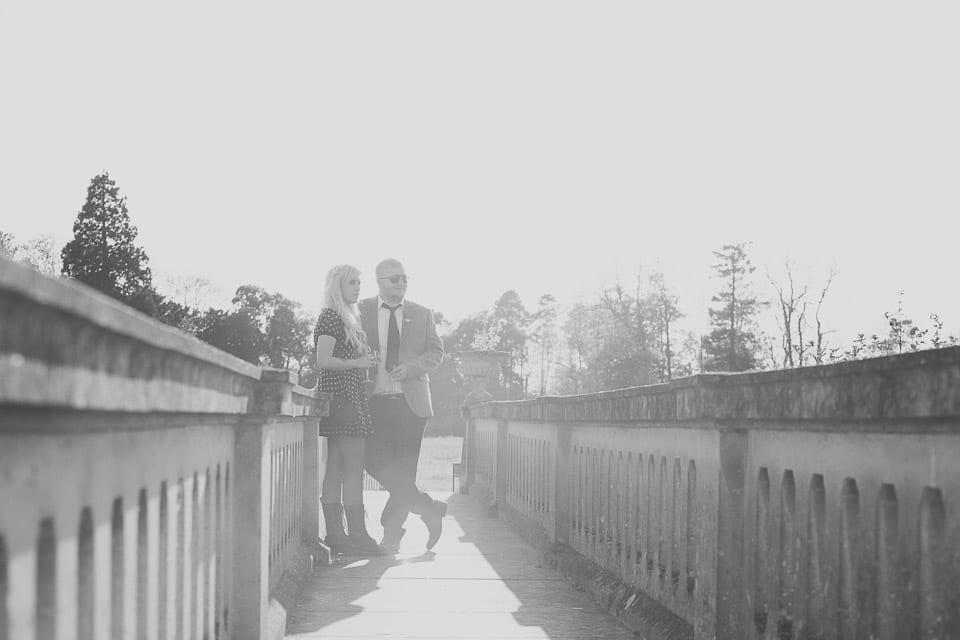 grooms brother on bridge