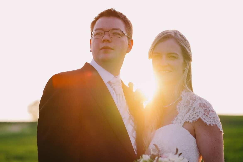 Kingscote Barn wedding portraits