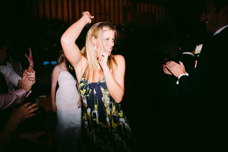 Kingscote Barn wedding party