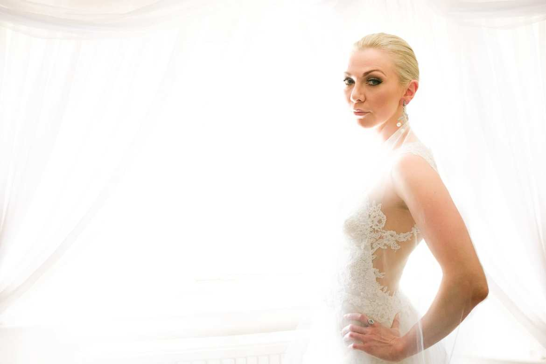 Bride portrait shot with the fujifilm x-pro2