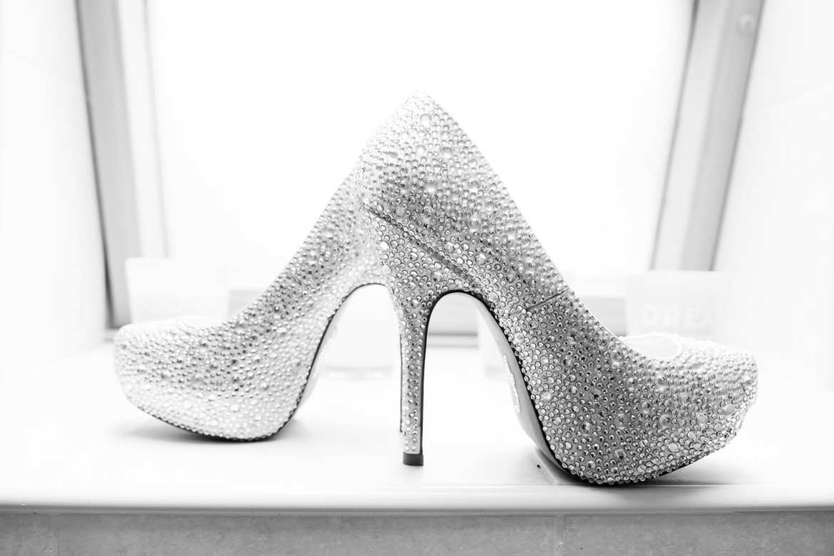 jeweled wedding shoes